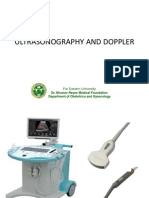Ultrasonography and Doppler 3rd Year Lecture 2012