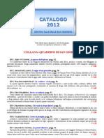 Catalogo Marzo 2012
