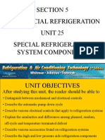 Unit 5 Special Refrigeration System