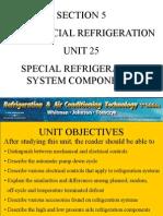 Unit 5 Special Refrigeration System