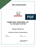 Final Honda Report