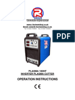 Plasma Cutter Owners Manual P100HF
