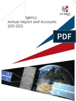 UK Space Agency Annual Report 2012