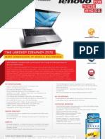 Lenovo IdeaPad Z570 Datasheet