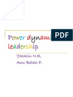 Power Dynamics in Leadership