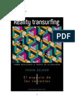 Reality Transurfing - El Espacio de Las Variantes - Vol I (Vadim Zeland)