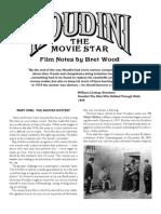 Houdini Filmnotes