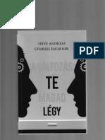 65270532 Steve Andreas a Valtozas Te Magad Legy