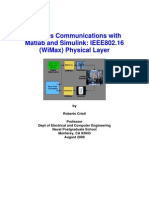 Physical Layer Matlab Simulation of Wireless Communication