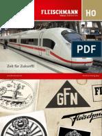Fleischmann Katalog Spur H0 (deutsch) - 2012