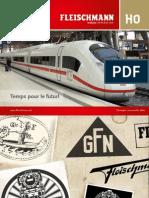 Fleischmann Katalog Echelle H0 (français) - 2012