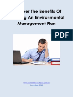 Things To Look For When Purchasing An Environmental Plan Sample