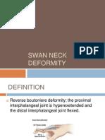 Swan Neck Deformity