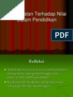 Pendekatan Terhadap Nilai-Sarawak, Kel & PD