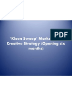 Kleen Sweep' Marketing & Creative Strategy