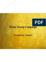 Kleen Sweep Campaign 8