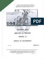 Apostila CAESAR-Brasil Manual de Treinamento