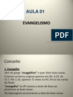 Evangelismo - Aula 01