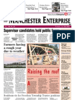 Manchester Enterprise front page July 26