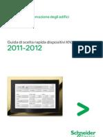Guida Scelta Rapida Dispositivi KNX LSB02402IT