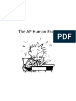 the ap human essay