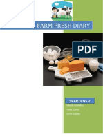 Farm Fresh Diary - Product marketing and development