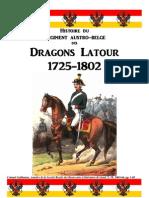 1864 Histoire du Régiment des Dragons Latour