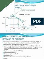 REPASO INVERSIÓN ÓPTIMA, Datos y Otros