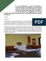 Intervista a Giovanni d'Angelo Sul Turismo Nautico e Sue Prospettive a Isola Delle Femmine