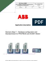 Appl s7 Hw and Std Block Profibusandacsm1 Motion Revb