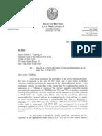 J. Tingling Letter 7-25-12 - (# Legal 3662049)