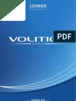 VOLITION SPAS - Catalogue Lounge