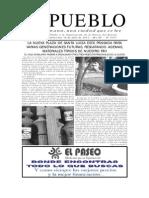 El Hundimiento del Vapor Maldonado, Diario El Pueblo de Santa Lucia