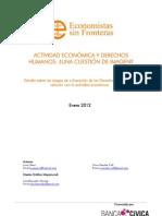 Estudio Actividad Economica y Derechos Humanos 2011