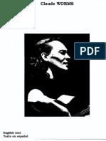 Vicente Amigo - Claude Worms Book- Maestros Contemporaneos de La Guitarra Flamenca