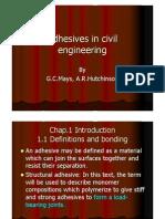 16Adhesives in Civil Engineering