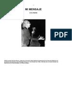 Mi Mensaje- Eva Perón