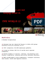 Mahindra - Automotive and Farm Equipment Sector PPT - Final