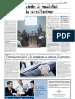 La Stampa  art. sulla Mediazione civile MARTEDÌ 31 GENNAIO 201