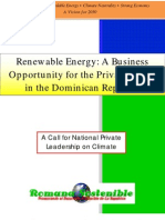 Renewable Energy a Business Opportunity for the Private Sector in the Dominican Republic, 2007