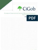 Carpeta Institucional Fundación CiGob