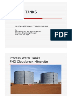 Installation and Commissioning of API 650 Tanks (Presentation Without Audio)
