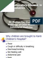 Teaching Respiratory Diseases in Bedside Paediatrics