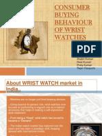 Consumer Buying Behaviour of Wrist Watches