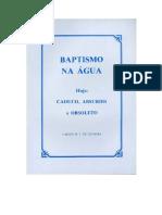 Baptismo Na Agua