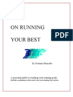 Plan on Running Your Best