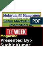 The Week Sudhir Sip Presentation