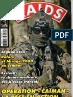 Operation Caiman + la chaine medicale,RAIDS N°310,2012.márc