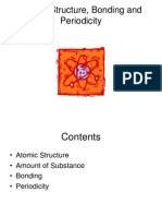 Atomic Structure Bonding and Periodicity
