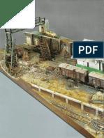 Diorama Ferroviario Muy Interesante
